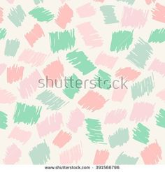 Seamless cute hand drawn pattern Scribble multicolored cute background Scrawl kids backdrop Cute seamless pattern for girls. Pastel seamless pattern. Seamless feminine background. Vector illustration.