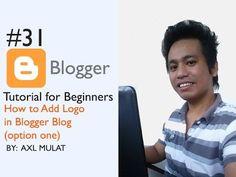 ► How to add Logo for you blogger.com blog? ► Complete Blogger Tutorial Series - https://www.youtube.com/watch?v=PMqsqSe5Oys&list=PLFbogLJ2e0r599XU6lII9qKwVE1msQ9EM