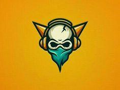 Skull Gaming Creative Gaming Logos For Inspiration Skull Game, Ninja Logo, Game Logo Design, Logo Desing, Rapper Art, Skull Logo, Sculpture, Cool Logo, Logo Design Inspiration