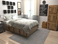 Gray 5' 3 x 7' 5 Solid Gabbeh Rug | Area Rugs | eSaleRugs