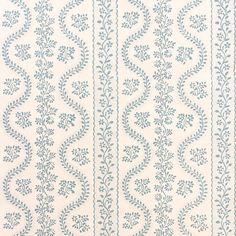 Dolly Wallpaper - Sea Foam / Rolls