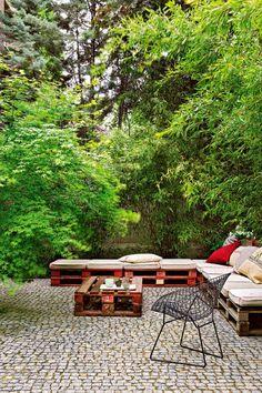 Salon de Jardin en Palette : 21 Idées à Découvrir | Un, Http://www ...