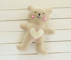 Download Soft Baby Teddy Bear Sewing Pattern (FREE)