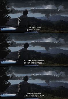 Anamorphosis and Isolate — ― Donnie Darko (2001) Gretchen: What if you could...