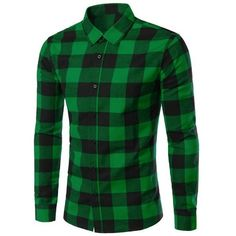 Slimming Color Block Plaid Shirt Collar Long Sleeves Shirt For Men ($18) ❤ liked on Polyvore featuring men's fashion, men's clothing, men's shirts, men's casual shirts, mens slim shirts, men's color block shirt, mens casual long sleeve shirts, mens longsleeve shirts and mens slim fit casual shirts