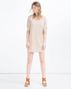 STRAIGHT DRESS from Zara