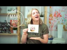Today we are doing our May Let's Make Art Matter For You! Together as a community let's spread love and kindeness by sending a beautiful basket of flowers to. Watercolor Video, Watercolour Tutorials, Watercolor Paintings, Canvas Paintings, Art Projects, Projects To Try, Let's Make Art, Flowers For You, Flower Basket