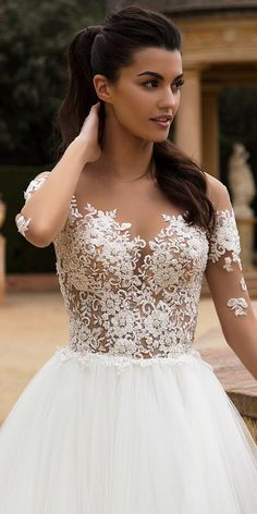 Milla Nova Bridal 2017 Wedding Dresses deily / http://www.deerpearlflowers.com/milla-nova-2017-wedding-dresses/
