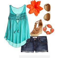Summer day on the beach/park