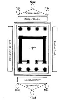 Plan of the Temple of Athena Nike