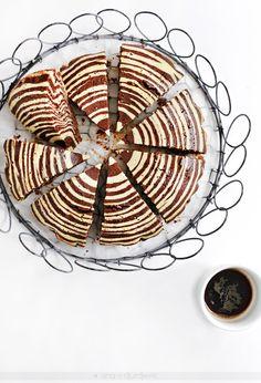 ... zebra cake ...