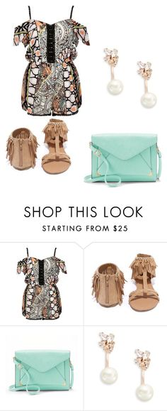 """""""Yah Or Nah"""" by courtneymoody234265 on Polyvore featuring River Island, Qupid, Apt. 9 and Kate Spade"""