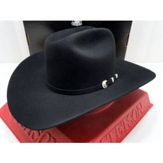 a08b02c997a Stetson Cowboy Hat 10X Beaver Fur Felt Balck ShastaSFSHAS-754007 6625