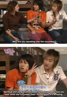 Heechul being weird as usual