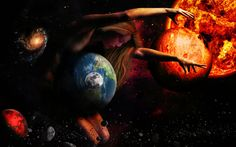 The Goddess Gaia by thefantasim Digital Art / Photomanipulation / Fantasy©2013 thefantasim