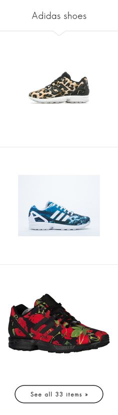 """Adidas shoes"" by mollface ❤ liked on Polyvore featuring shoes, sneakers, adidas, white white blue, blue and white sneakers, 80s sneakers, white low heel shoes, white shoes, adidas originals sneakers and black"
