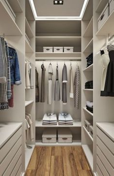 120 brilliant wardrobe ideas for first apartment bedroom decor Looking for some fresh ideas to remodel your closet? Visit our gallery of leading best walk in closet design ideas and pictures. Walk In Closet Small, Walk In Closet Design, Bedroom Closet Design, Master Bedroom Closet, Small Closets, Closet Designs, Dream Closets, Bedroom Designs, Wardrobe Designs For Bedroom