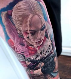 harley quinn tattoo1