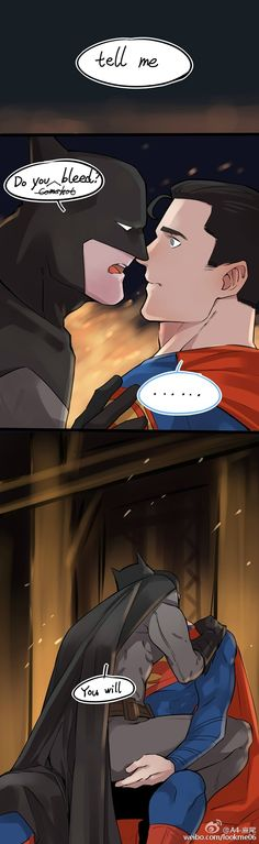 "Read SUPERBAT 12 from the story 🖤 imágenes ""SUPERBAT"" 🖤 by Patyneko (Ana Patricia) with reads. Superman X Batman, Otp, Dibujos Cute, Superbat, Batman Family, Clark Kent, Dc Heroes, Comic Book Characters, Marvel Dc Comics"