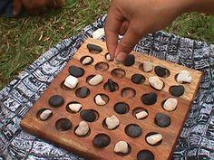 Konane, un juego de Hawái.