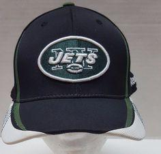 3d66853f3e1 New York Jets Black Hat Size Small Med Reebok NFL Equipment Fitted Cap.  Seasonal allergiesTeam cap• BALL CAPS ...