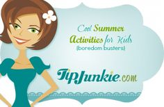 Cool Summer Activities for Kids {boredom busters}