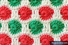 Crochet Multicolored Stitch | MyPicot | Free crochet patterns