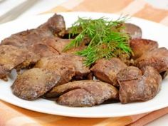 Hígado de pollo con jengibre