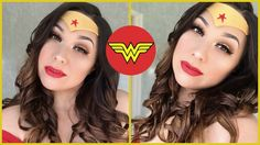 In this week& video, I show you how to create this Wearable Wonder Woman Makeup look! Leave me a comment down below with your thoughts on this video and wha. Wonder Woman Makeup, Makeup Tutorials, Makeup Ideas, Makeup Looks, Cosplay, Phoenix, Thoughts, Create, Youtube