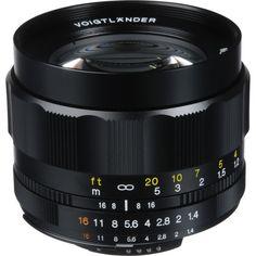 4. Voigtlander Nokton 58mm f/1.4 SL-II N Manual Focus Lens for Nikon AIS