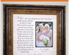 Wedding Quotes :Mother of the Bride Wedding Day Gifts for Parents of the Bride from Daughter Thank You Gift For Parents, Wedding Thank You Gifts, Wedding Gifts For Parents, Mother Of The Groom Gifts, Father Of The Bride, Bride Gifts, Gifts For Mom, Father Daughter, Gift Wedding