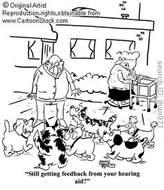 Only those who wear hearing aids will understand this. :)