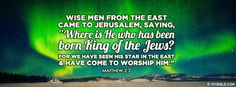 Wise men from the east came to jerusalem,... - Facebook Cover Photo