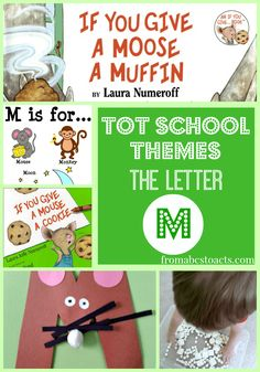 Tot School Themes: The Letter M - From ABCs to ACTs