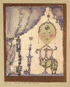 Hakimora vor seiner letzten Erhebung by Paul Klee 1918