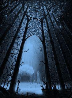 Imagem de dark, fantasy, and gate