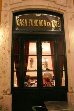 This a restaurant that Fernando Pessoa (Portuguese writer) wrote most of his poems....