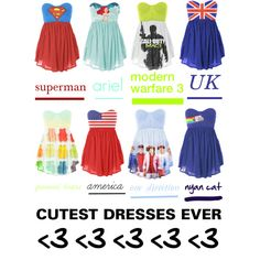 """""""fangirl dresses"""" by marzpoo on Polyvore"""