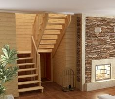 Деревянная лестница К-004м/3 Small Staircase, Loft Staircase, House Stairs, Staircase Design, Small Attic Room, Shed To Tiny House, Modern Stairs, Interior Stairs, Loft Spaces