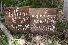 love this scripture! Where you go I will go and where you stay, I will stay. by @frameddecor