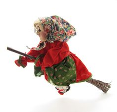 Kitchen Witch Dolls hang in German kitchens to ward of cooking ...