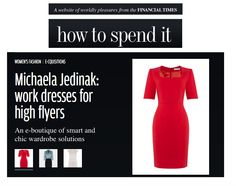 Fashion Label Michaela Jedinak was featured in HOW TO SPEND IT- Financial Times!