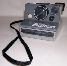 POLAROID The Button Land Camera Vintage Instant Film Camera Tested Works #Polaroid