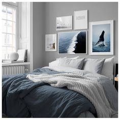 in the Inspiration / Bedroom group at Desenio AB . - in the Inspiration / Bedroom group at Desenio AB in the Inspiration / Bedr - Winter Bedroom, Home Bedroom, Bedroom Furniture, Bedroom Decor, Ikea Bedroom, Bedroom Wall Decor Above Bed, Bedrooms, Design Bedroom, Bedroom Inspo Grey