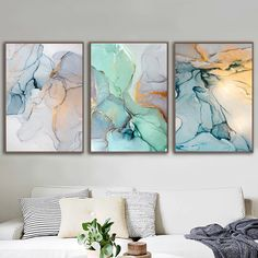 Modern Colorful Marble Abstract Wall Art Contemporary Nordic Style Fine Art Canvas Prints For Chic Bedroom Living Room Glam Decor Canvas Art Prints, Wall Canvas, Canvas Paintings, Bedroom Canvas, Horse Canvas Painting, Cactus Wall Art, Floral Wall Art, Abstract Wall Art, Acrylic Wall Art