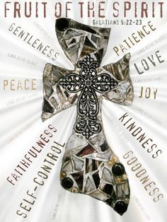 Galatians 5:22-23 Fruit of the Spirit  He blesses us with his gifts so that we too may share them with others....