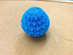 Origami Magic Ball (Dragon's Egg by Yuri Shumakov)  by jonakashima  95,537 views