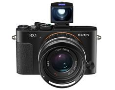 Sony Cyber-Shot DSC-RX1 – World's First Compact Digital Camera with Full-Frame Sensor | Officially Unveiled