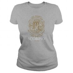 Scorpio The best… Scorpio Star Sign, Scorpio Men, Scorpio Zodiac, Amazing Women, Long Sleeve Shirts, Friends, Gift, T Shirt, Clothes