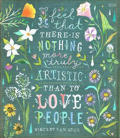Love People by Katie Daisy